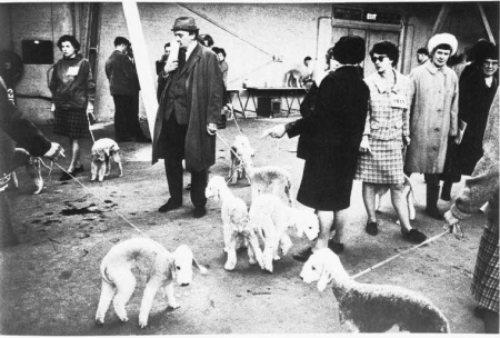 Portrait-People-with-Animals-Crufts-Dog-Show-1968